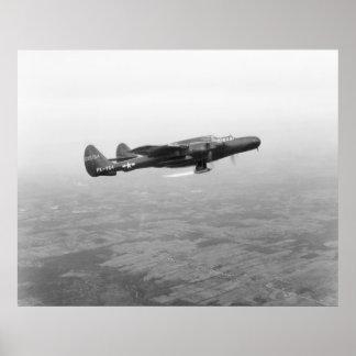 Viuda negra P-61 Posters