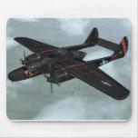Viuda negra P-61 Tapete De Ratones