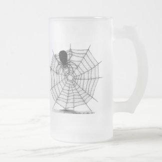 Viuda negra tazas de café