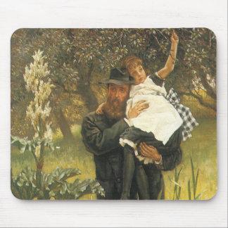 Viudo por Tissot, arte del retrato del Victorian Alfombrilla De Ratón