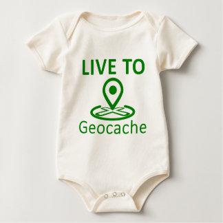 Viva al geocache traje de bebé