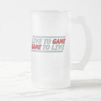 Viva al juego taza