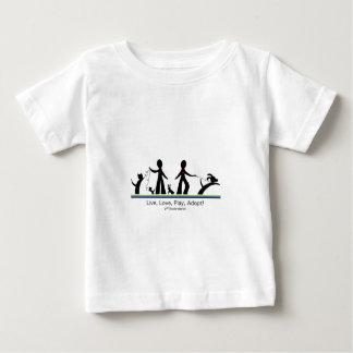 ¡Viva, ame, juegue, adopte! T-shirt