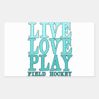 Viva ame juegue - al hockey hierba etiqueta