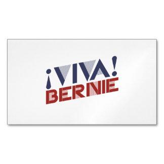 Viva Bernie Sanders Magnetic Business Cards (Pack Of 25)