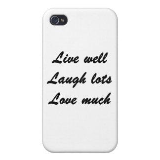 Viva bien iPhone 4/4S carcasa
