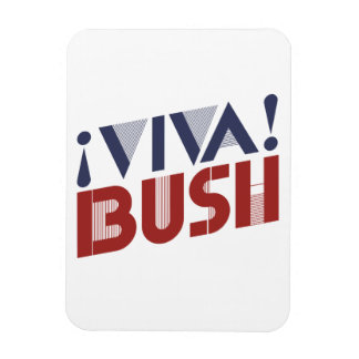 VIVA BUSH -.png Rectangular Photo Magnet