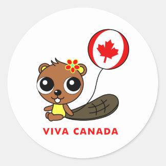 Viva Canada Sticker
