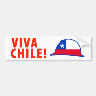 Viva Chile! Bumper Sticker