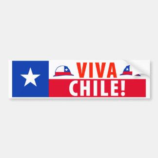 Viva Chile! Car Bumper Sticker