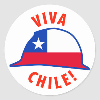 Viva Chile! Classic Round Sticker