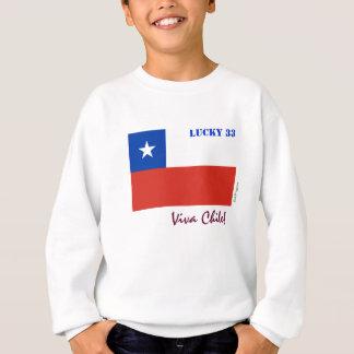 Viva Chile Lucky 33 Kid's Sweatshirt