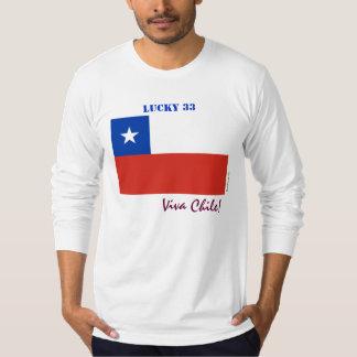 Viva Chile Lucky 33 Long Sleeve T-Shirt