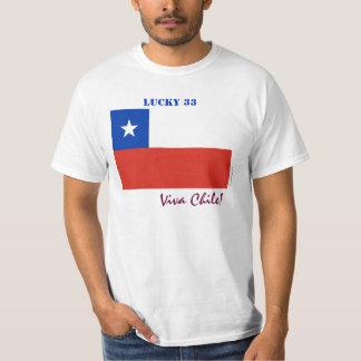 Viva Chile Lucky 33 T-Shirt