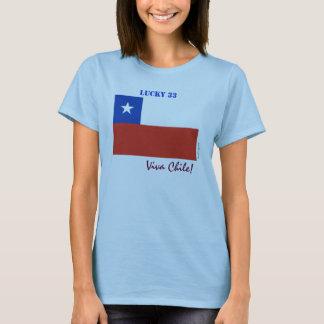 Viva Chile Lucky 33 Women's T-Shirt