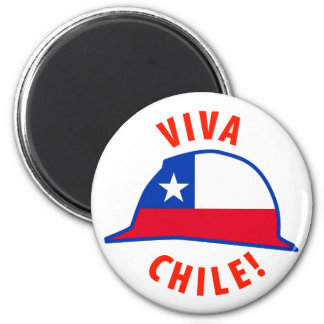 Viva Chile! 2 Inch Round Magnet