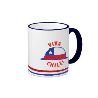 Viva Chile! Ringer Coffee Mug