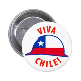 ¡Viva Chile! Pin Redondo De 2 Pulgadas