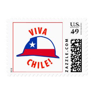 Viva Chile! Postage Stamps