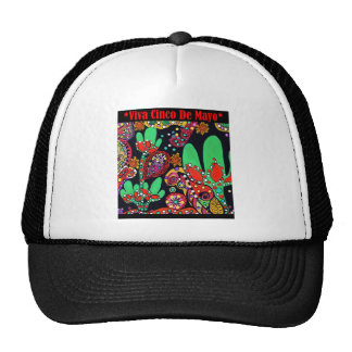 VIVA CINCO DE MAYO ART TRUCKER HAT