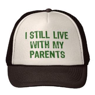 Viva con los padres gorros
