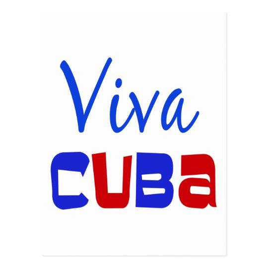 Viva Cuba Postcard