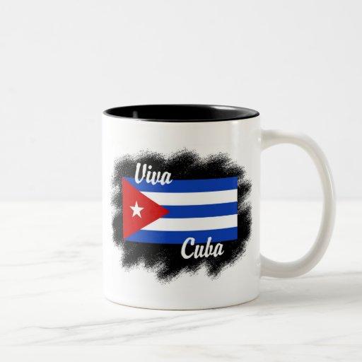 Viva Cuba Taza De Dos Tonos