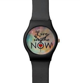 ¡Viva en el NOW! Relojes De Mano