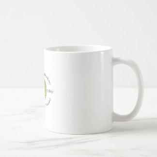 VIVA EN EL PRESENTE TAZA DE CAFÉ