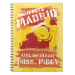 ¡Viva en etapa! Srta. Piggy Cuaderno