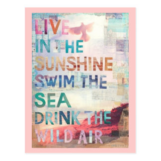 Viva en la sol postales