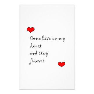 Viva en mi corazón papeleria