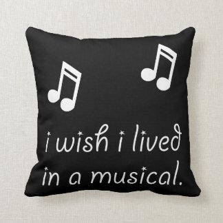 Viva en Musical Cojín