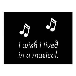 Viva en Musical Postales
