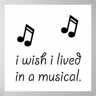 Viva en Musical Póster
