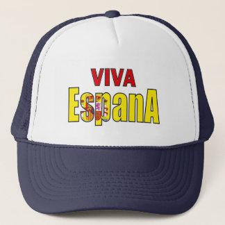 Viva Espana Spain flag football champions hat