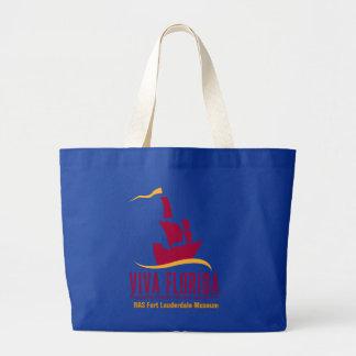 Viva Florida Large Tote Bag
