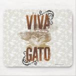 Viva Gato 2 Alfombrilla De Ratón