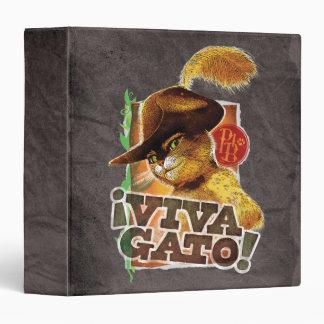 Viva Gato! 3 Ring Binders