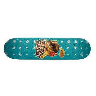 Viva Gato! Custom Skate Board