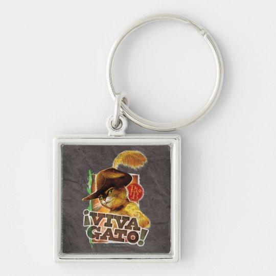 Viva Gato! Keychain