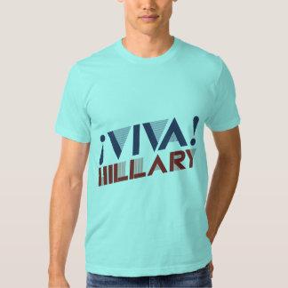 VIVA HILLARY - .PNG PLAYERAS