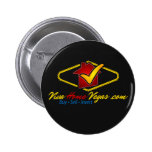 Viva Home Vegas (logo) Pinback Button