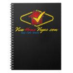 Viva Home Vegas (logo) Spiral Notebooks