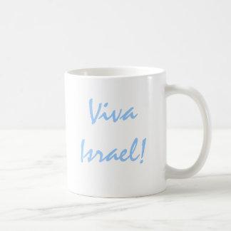 ¡Viva Israel! Favorable taza de café de Israel