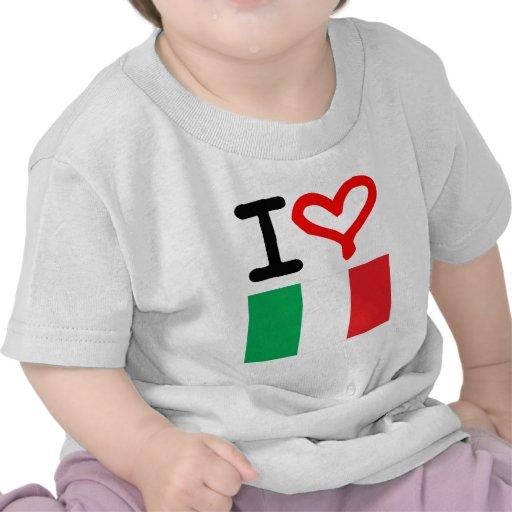 ¡Viva Italia! Camisetas