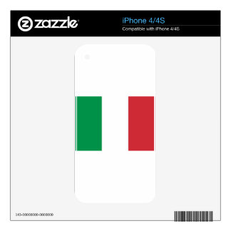 Viva Italia! Go Italy!! Decals For The iPhone 4