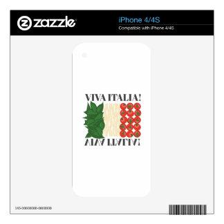 Viva Italia iPhone 4S Skins