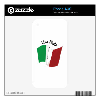 Viva Italia Decal For The iPhone 4