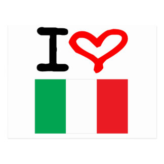 ¡Viva Italia! Postal